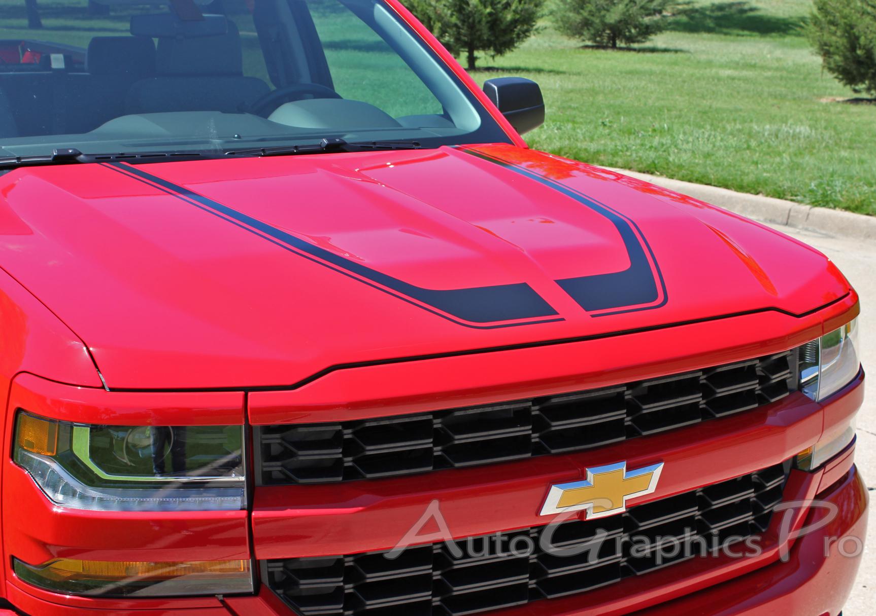 "2016 2017 2018 Chevy Silverado Special Edition Rally Style ""FLOW"