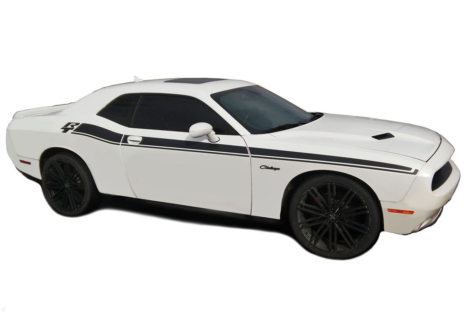 2011 2019 Dodge Challenger Door Stripes Dual 2 Decals