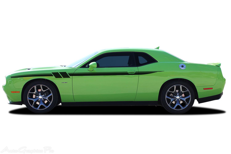 2011-2016 2017 2018 Dodge Challenger Body Stripes FURY ...