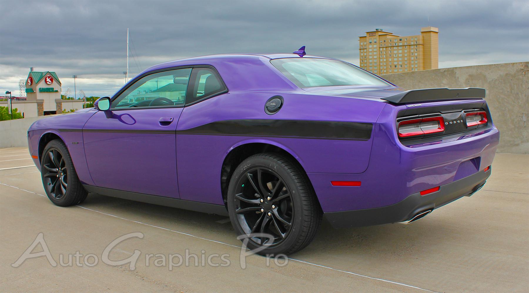 2008 2017 2018 Dodge Challenger Side Stripes Roadline
