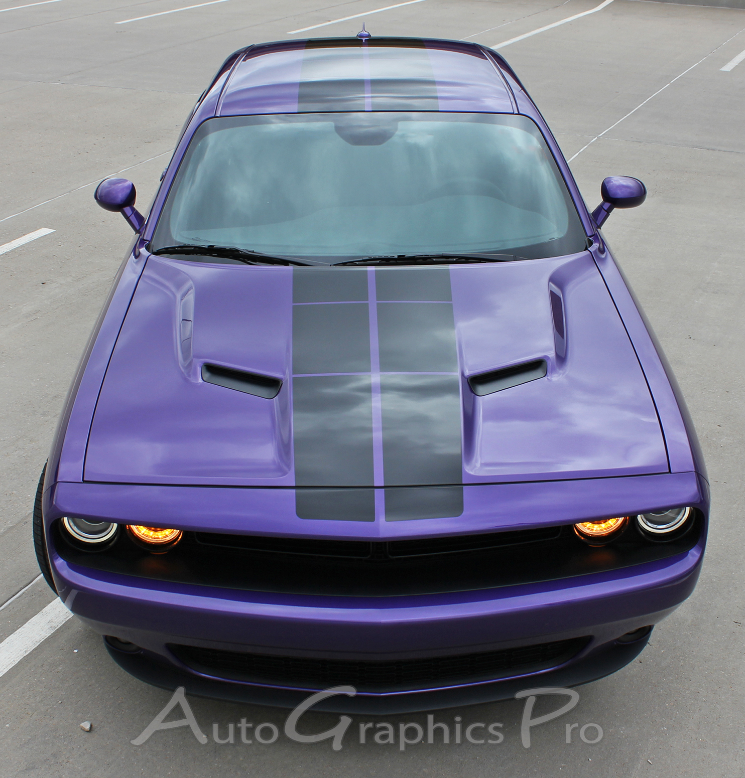 Dodge Challenger 2008 2016 2017 Premium Vinyl Graphics