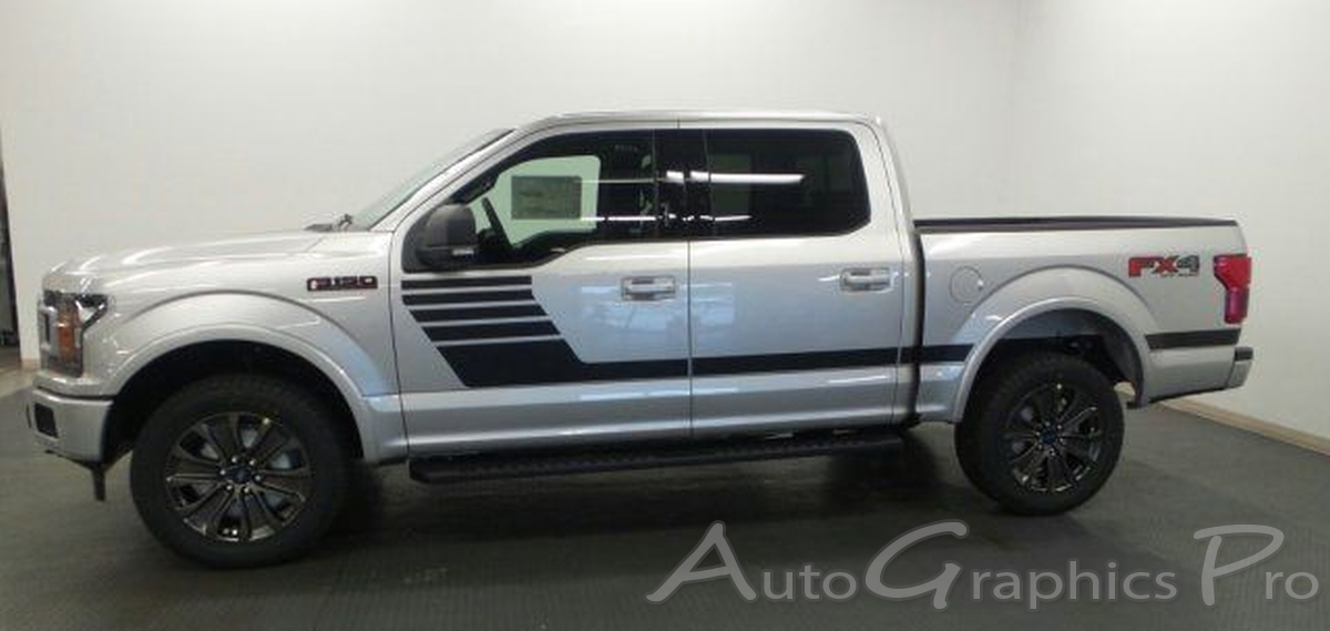 2015 2016 2017 2018 ford f-150 stripes lead foot special edition