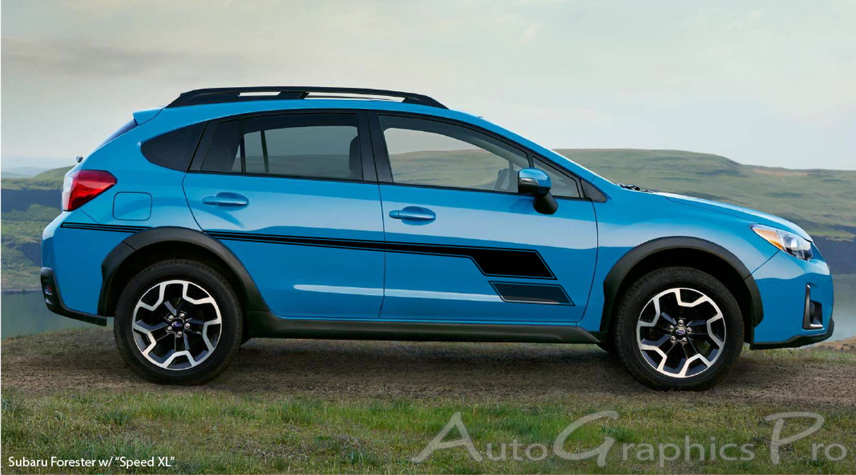 Quot Speed Xl Quot Subaru Forester Mid Body Line Door Rally Accent