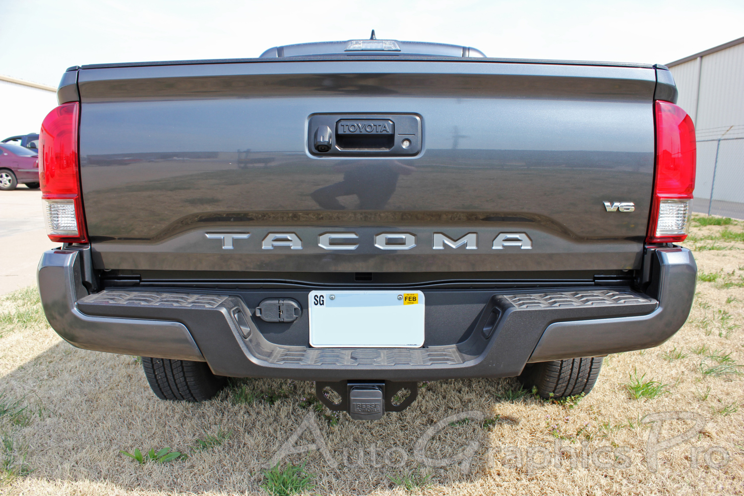 2015 2016 2017 toyota tacoma tailgate letters rear bed lettering trd sport pro accent trim decal 3m vinyl graphics stripe kit