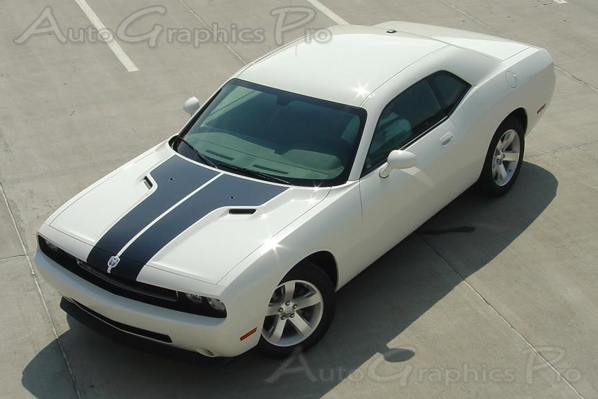 2008 2014 Dodge Challenger Quot Hood Quot Mopar Style Vinyl
