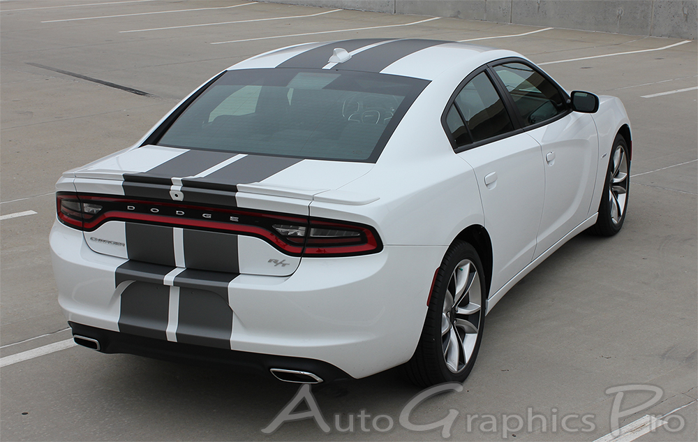 2015 2016 2017 dodge charger quot n charge rally quot mopar style vinyl racing stripes kit