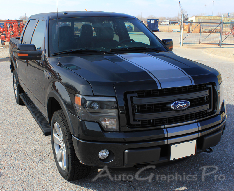 "2014 Ford F-150 ""CENTER STRIPE"" Factory Style Vinyl"