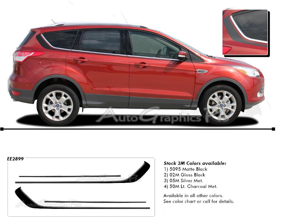 2013 2017 Ford Escape Quot Runaround Quot Upper Body Line Door
