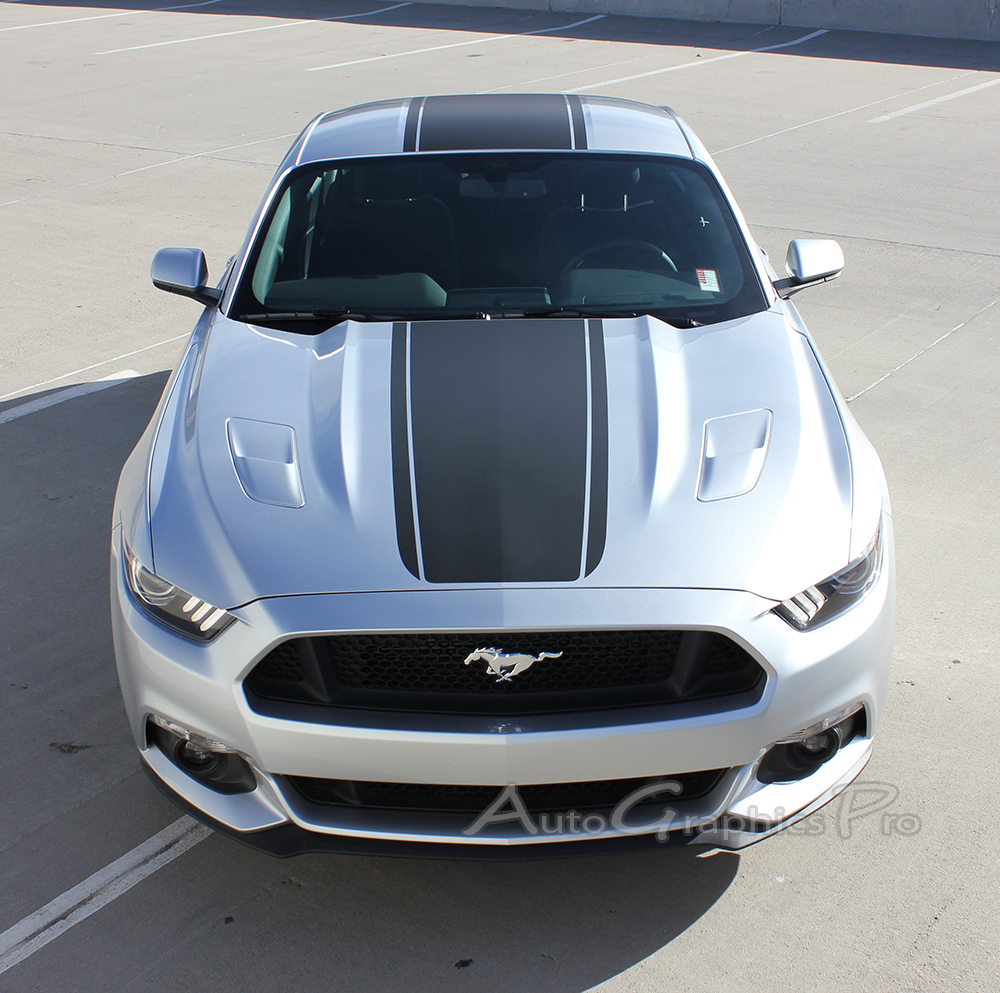 "2015 2016 2017 Ford Mustang Super Snake ""MEDIAN"" Mohawk ..."