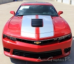 "2014-2015 Chevy Camaro S-SPORT ""OEM Factory Style"" Rally and Racing Stripes Kit for SS Models Only"