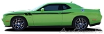 2011-2016 2017 2018 Dodge Challenger Body Stripes FURY Door Decals Hash Vinyl Graphics Mopar Style Kit Decals