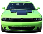 2015 2016 2017 2018 Dodge Challenger HOOD Graphic Mopar OEM Style Decals Vinyl Graphics Kit