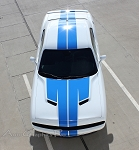 2015 2016 2017 2018 Dodge Challenger Rally Hood Stripes WINGED Racing Decals Mopar