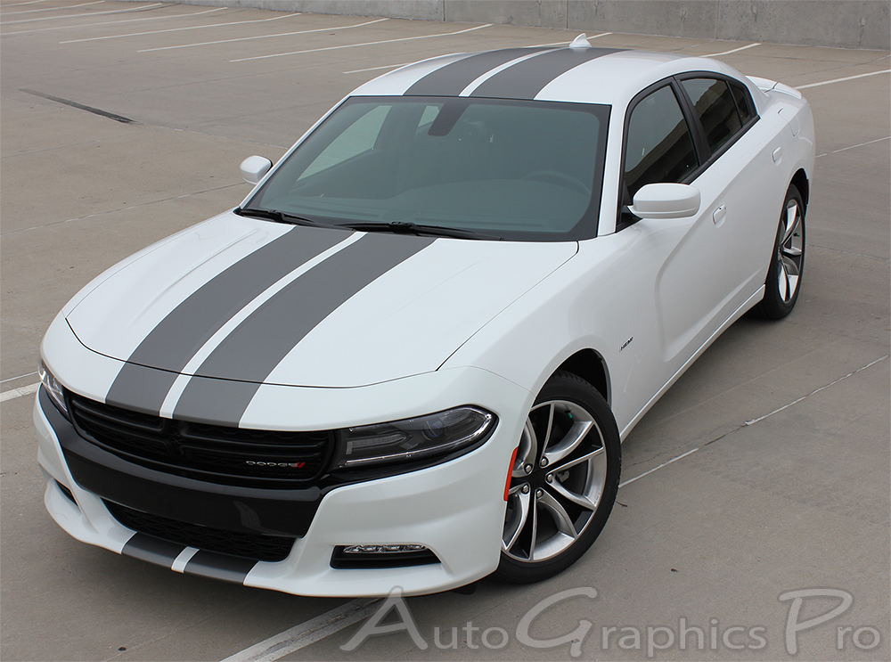 2015 2016 2017 2018 Dodge Charger Racing Stripes N Charge
