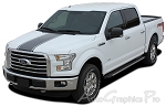 "2015 Ford F-150 ""CENTER STRIPE"" Factory Style Vinyl Decal Graphic Stripes"