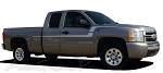 "2007-2015 Chevy Silverado ""FLEX"" Truck Side Vinyl Stripes Kit"