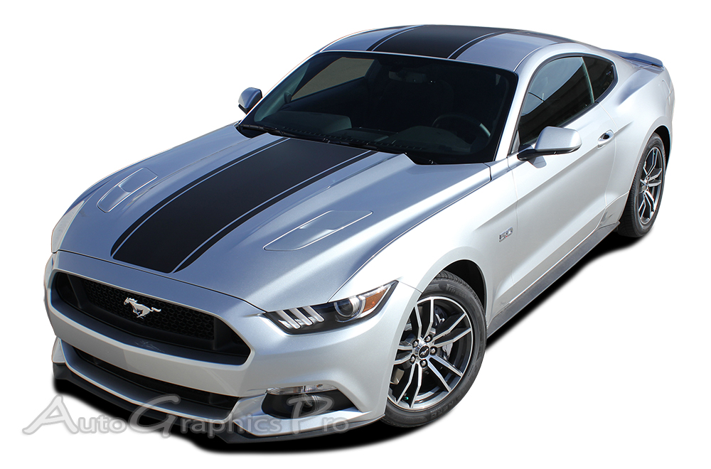 Ford Mustang Super Snake MEDIAN Mohawk Center - Decal graphics