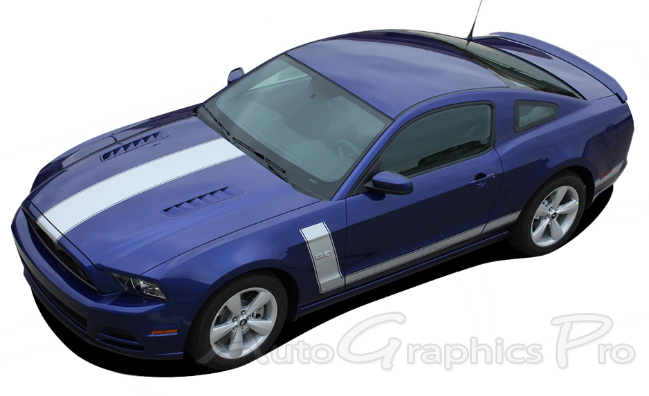 2010 2014 Mustang Rocker Panel amp Side Stripes
