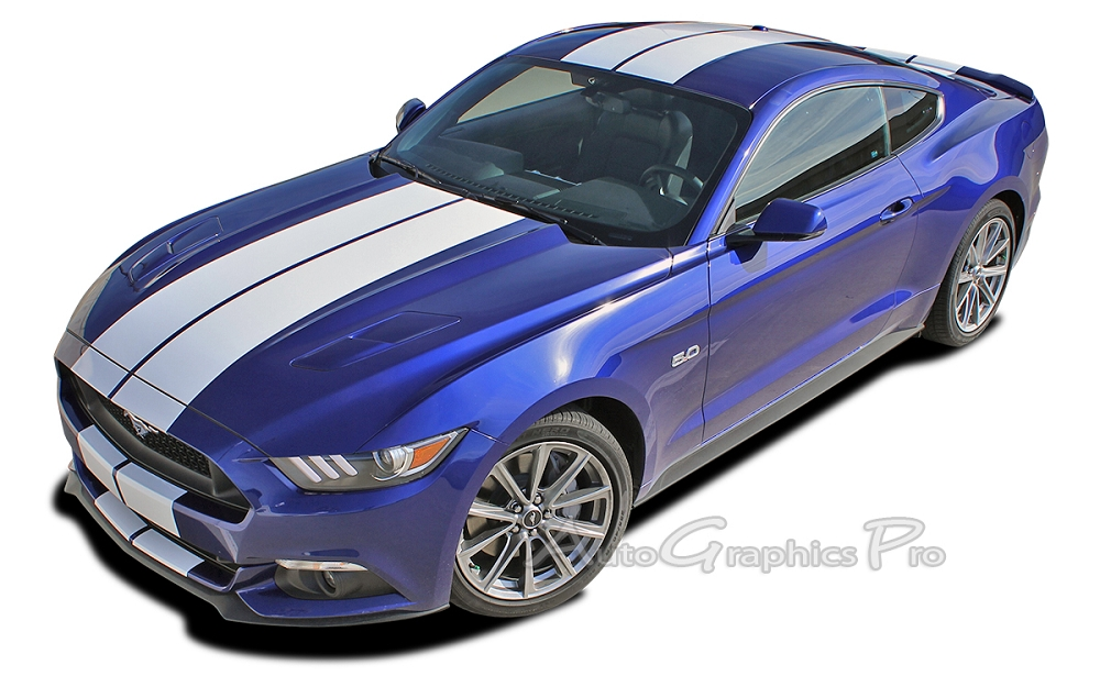 Ford mustang decals and stripes