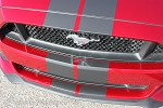 "2015 Ford Mustang ""STALLION SLIM"" 7"" inch Wide Racing and Rally Stripes Vinyl Decal Graphics"