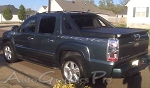 "Chevy Avalanche ""PYRO"" Flame Decal and Pin Striping Vinyl Graphics"