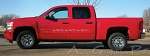 "Chevy Silverado ""PYRO"" Flame Decal and Pin Striping Vinyl Graphics"