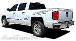 "2000-2015 Chevy Silverado ""CHAMP"" Truck Side Vinyl Graphics Stripes Kit"