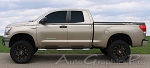 "Toyota Tundra ""SURGE"" Upper Body Wide Pin Striping Vinyl Graphic Decal Kit - Universal Fit"