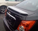 Chevy Sonic : Painted Rear Spoiler Wing fits 2012-2013 Models