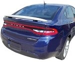 Dodge Dart : Painted Rear Spoiler Wing fits 2013-2015 Models