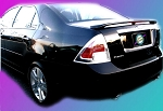 Ford Fusion : Painted Rear Spoiler Wing fits 2006-2009 Models