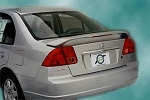 Honda Civic (4 Door) : Painted Rear Spoiler Wing fits 2001-2005 Models