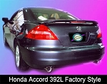Honda Accord (2 Door) : Painted Rear Spoiler Wing fits 2003-2005 Models