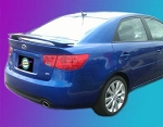 Kia Forte (4 Door) : Painted Rear Spoiler Wing fits 2010-2013 Models