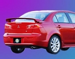 Mitsubishi Lancer : Painted Rear Spoiler Wing fits 2008 - 2011 Models
