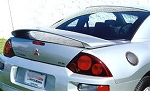 Mitsubishi Eclipse : Painted Rear Spoiler Wing fits 2000 - 2005 Models