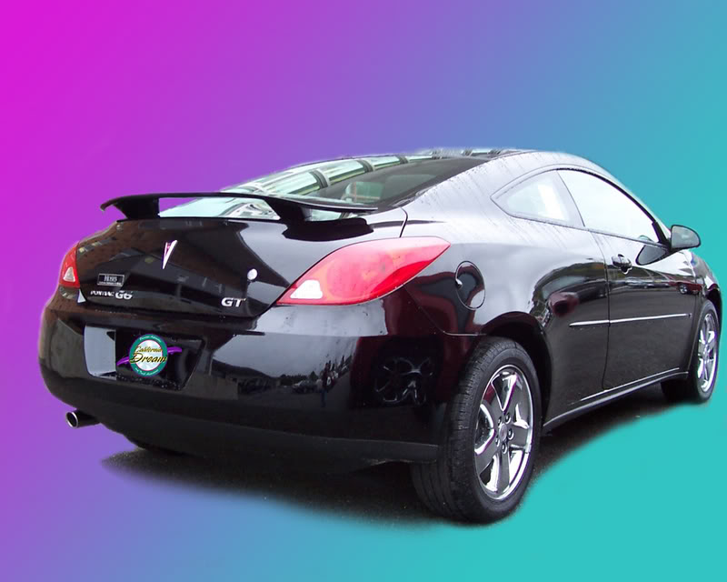Pontiac G6 Painted Rear Spoiler Wing Fits 2006 2009 Models