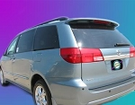 Toyota Sienna : Painted Rear Spoiler Wing fits 2004 - 2010 Models