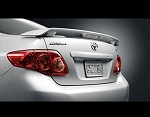 Toyota Corolla : Painted Rear Spoiler Wing fits 2009 - 2011 Models