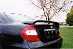 Toyota Camry : Painted Rear Spoiler Wing fits 2002 - 2006 Models