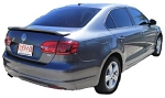 Volkswagen Jetta : Painted Rear Spoiler Wing fits 2011-2012 Models