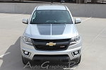 2015 2016 2017 2018 Chevy Colorado Hood Decals Stripes