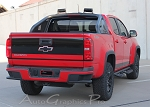 2015 2016 2017 2018 Chevy Colorado Rear Tailgate Decals