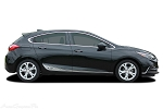 2016 2017 2018 Chevy Cruze Stripes SPAN Lower Rocker Decals 3M Vinyl Graphic Door Striping Kit