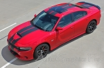 2015 2016 2017 2018 Dodge Charger Vinyl Racing Stripes
