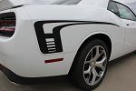 2008-2016 2017 2018 Dodge Challenger Decals CUDA STROBE SIDES Stripes Rear Quarter Panel Rally Vinyl Graphics Mopar