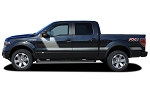 2009-2014 2015 2016 2017 2018 Ford F-150 Decals FORCE TWO Stripes Side Vinyl Graphic Factory Style Hockey Stick Kit