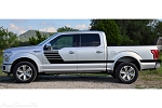 2015 2016 2017 2018 Ford F-150 Stripes LEAD FOOT Special Edition Appearance Package Hockey Stripe Decals Vinyl Graphics Kit