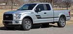 2015 2016 2017 Ford F-150 ELIMINATOR Side Door Panel Hockey Stick Style Vinyl Graphics Decals Stripes Kit