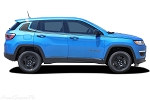 2017 - 2018 Jeep Compass Stripes